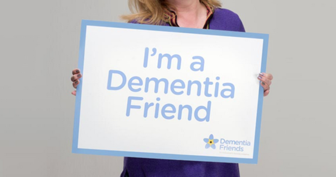Chantelle Bradley becomes a registered Dementia Friend