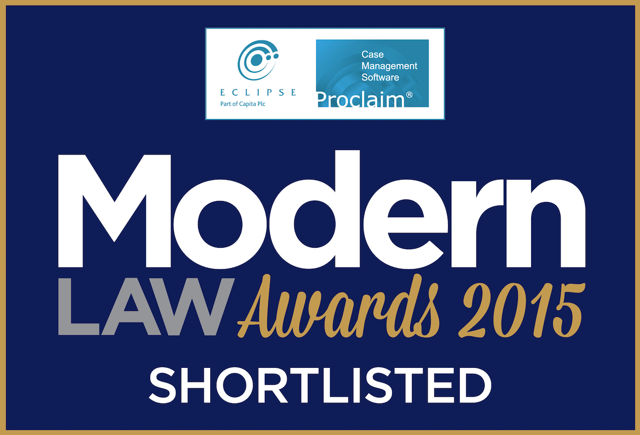 Giles Wilson Shortlisted for Modern Law Awards 2015