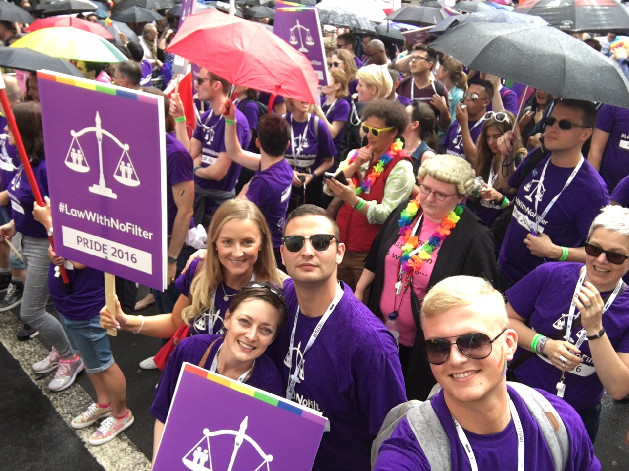 Team Giles Wilson at Legal Pride 2016